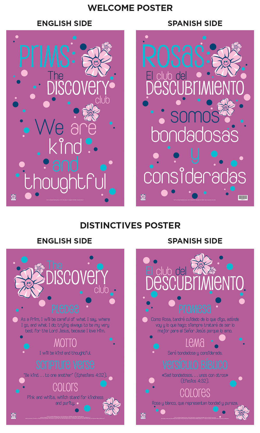 Mpact® Prims Poster Pack, Bilingual | My Healthy Church®