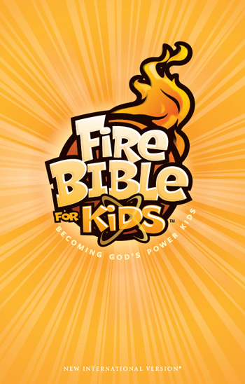Fire Bible for Kids NIV, hardcover