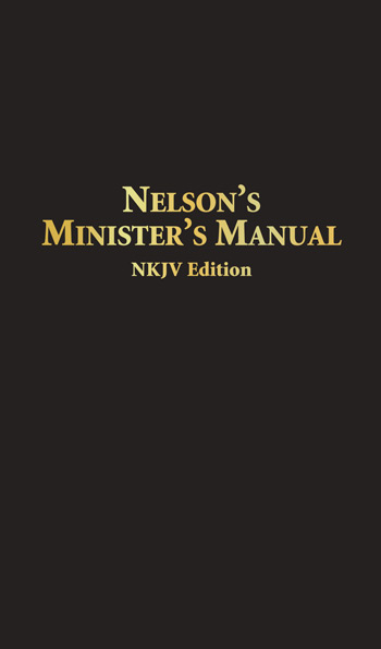 Nelson's Minister's Manual, NKJV (bonded leather)