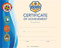 Discovery Rangers Certificate of Achievement