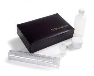 The Basic Portable Communion Set, black