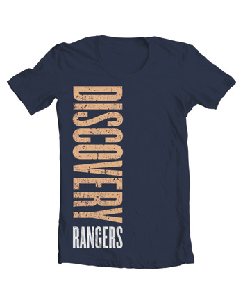 Discovery Rangers Color T-Shirt Adult 4XL - Navy