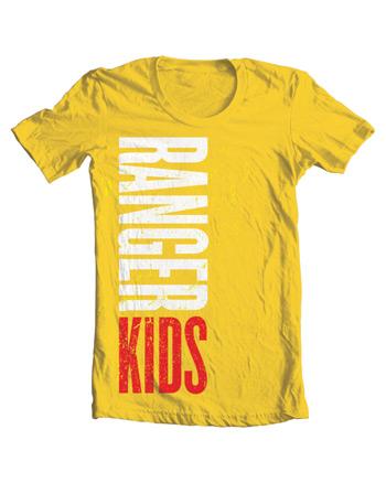Ranger Kids Color T-Shirt Adult 2XL