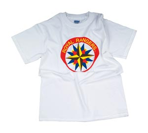 Royal Rangers T-Shirt CF Emblem Youth M (10-12)