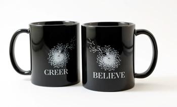 Believe Creer Mug