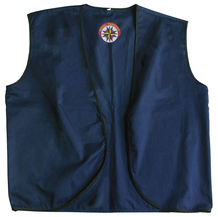Navy Vest - Youth S