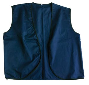 Navy Vest - Youth M