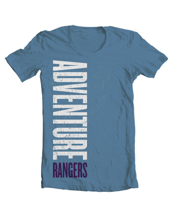 Adventure Rangers T-Shirt, Youth M
