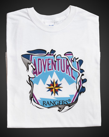 Adventure Rangers White T-shirt - Adult S