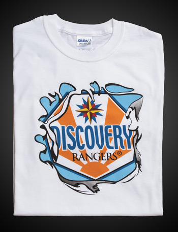 Discovery Rangers White T-shirt—Adult 4XL