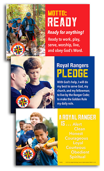 Royal Rangers Postcards