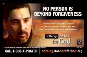 Forgiveness Postcard
