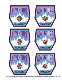 Adventure Rangers Emblem Sticker