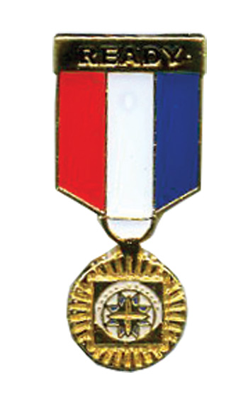 Gold Medal Hat Pin