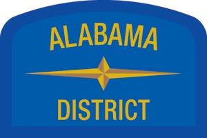 Alabama Geographic Patch