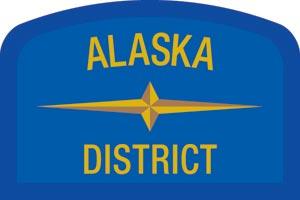 Alaska Geographic Patch