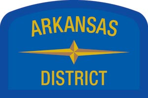 Arkansas Geographic Patch