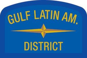Gulf Latin Geographic Patch