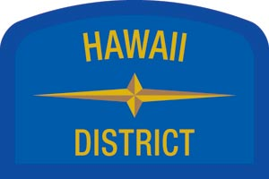 Hawaii Geographic Patch