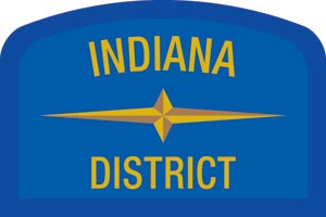 Indiana Geographic Patch