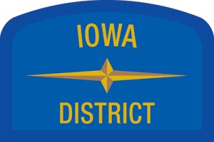 Iowa Geographic Patch