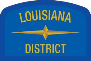 Louisiana Geographic Patch