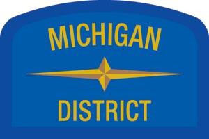 Michigan Geographic Patch