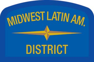 Midwest Latin Geographic Patch