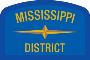 Mississippi Geographic Patch