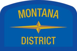 Montana Geographic Patch