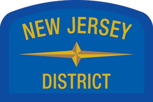 New Jersey Geographic Patch