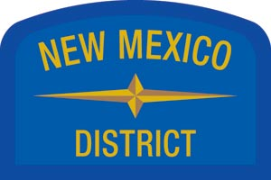 New Mexico Geographic Patch