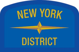 New York Geographic Patch