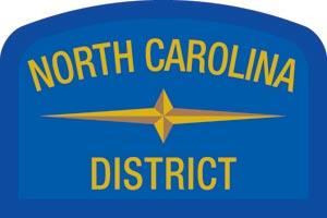 North Carolina Geographic Patch