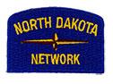 North Dakota Geographic Patch