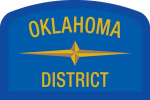 Oklahoma Geographic Patch