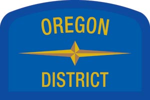 Oregon Geographic Patch
