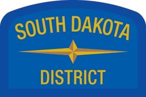 South Dakota Geographic Patch