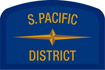 Southern Pacific Latin Geographic Patch