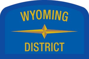 Wyoming Geographic Patch