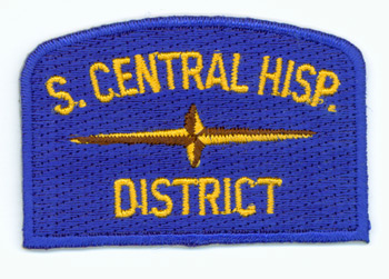 South Central Hispanic Geographic Patch