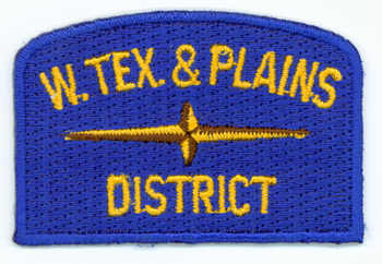 West Texas & Plains  Geographic Patch