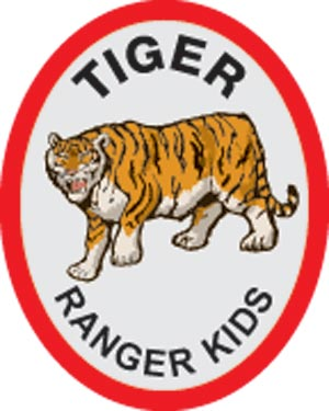 Tiger Award Patch