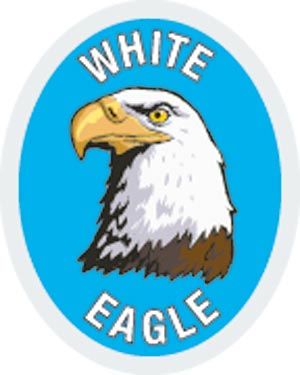 Discovery Rangers Advancement Patch - White Eagle