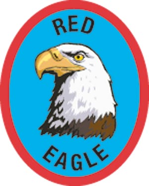 Discovery Rangers Advancement Patch - Red Eagle