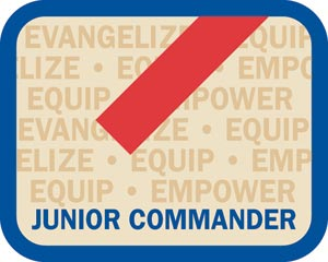 Local Office Insignia - Junior Commander Patch