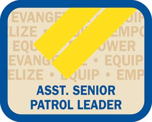 Local Office Insignia - Assistant Senior Patrol Leader Patch