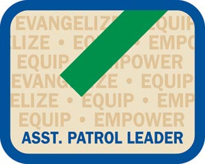 Local Office Insignia - Assistant Patrol Leader Patch