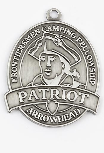Patriot Arrowhead Medallion