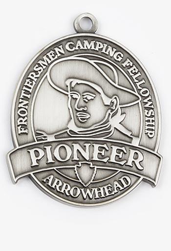 Pioneer Arrowhead Medallion